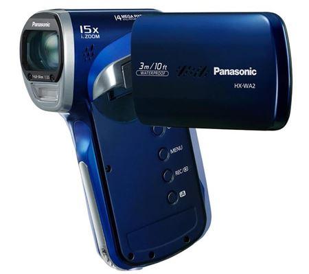 Picture of PANASONIC Videocamera alta definizione HX-WA2 - blu