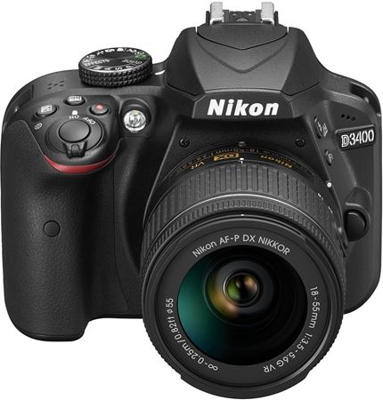 Picture of NIKON D3400 + obiettivo zoom AF-S DX VR NIKKOR 18-55 mm