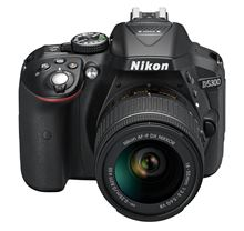Immagine di Nikon D5300 Fotocamera reflex digitale con obiettivo singolo, Nero
