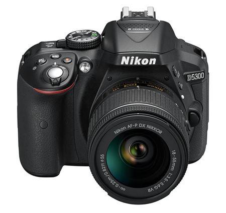 Picture of Nikon D5300 Fotocamera reflex digitale con obiettivo singolo, Nero